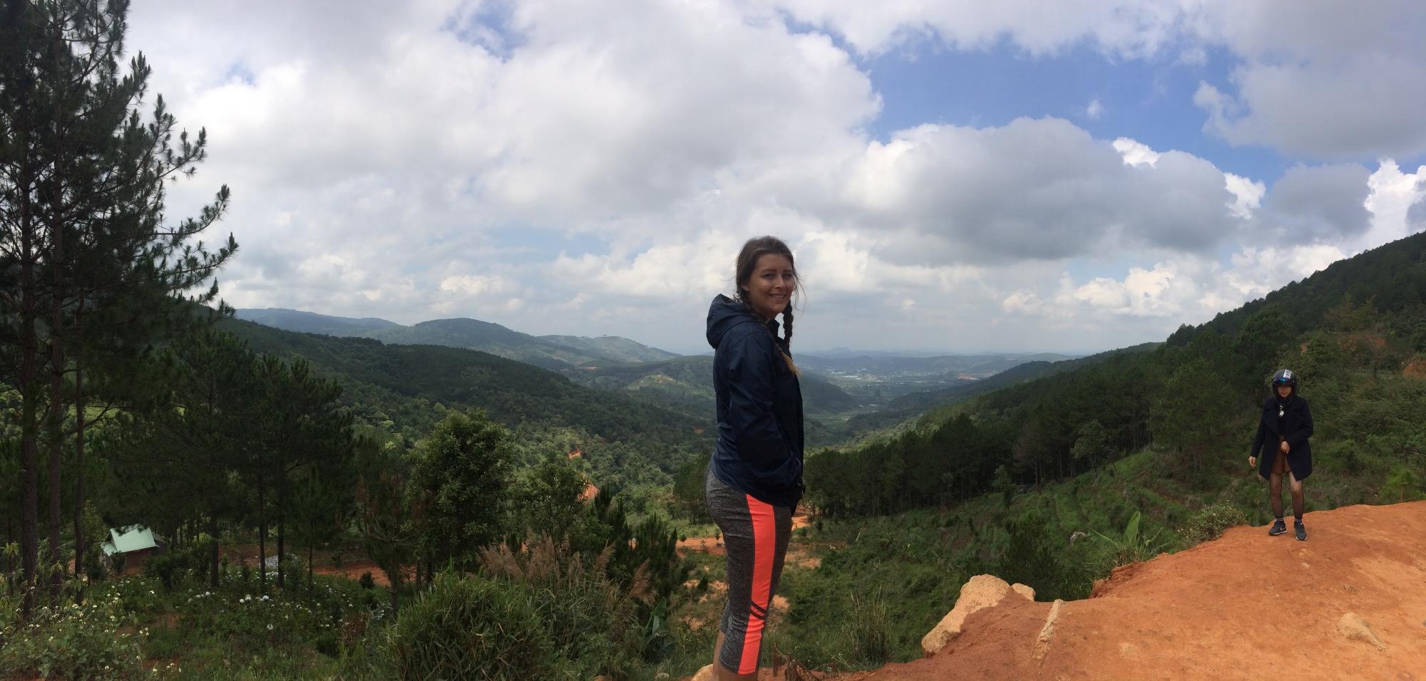 Panoramic view Da Lat Vietnam