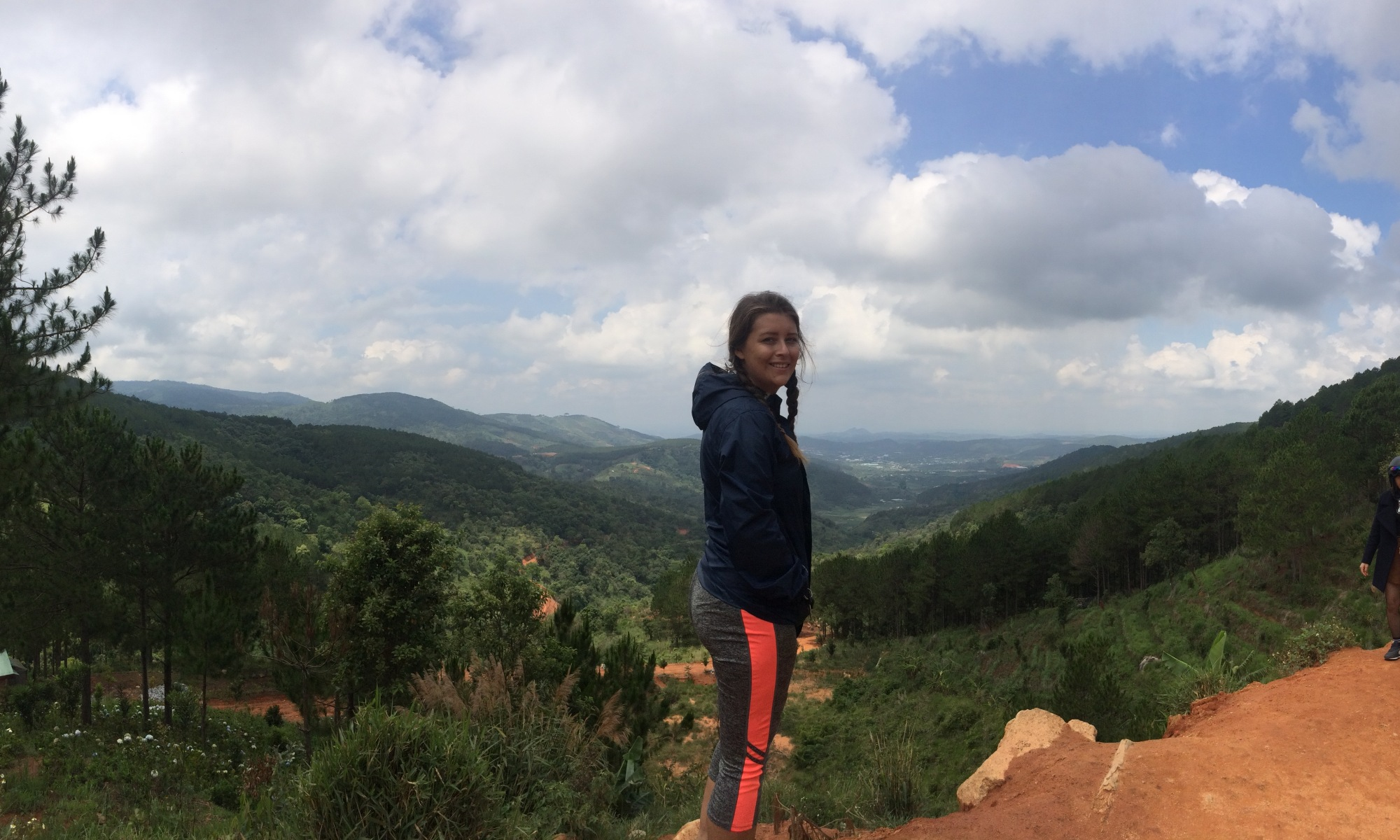 Panoramic view Da Lat Vietnam